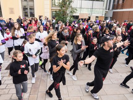 Flash mob mairie Hyeres